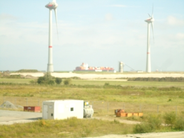 German Off-Shore Windpark Project in Cuxhaven